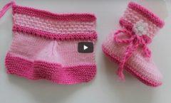 İki Şişle İki Renkli Bebek Botu Yapılışı