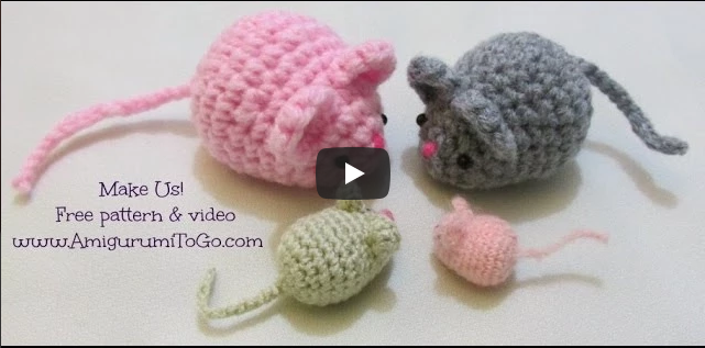 Crochet Along Amigurumi Mouse