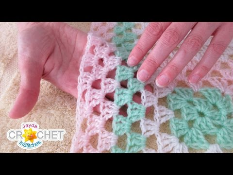How To Wash and Block Crochet & Knitting Projects