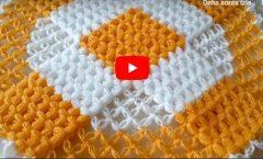 Yuvarlak Örümcek Ağı Lif Modeli Yapımı