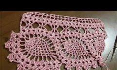 Tığişi örgü havlu kenarı modeli yapılışı