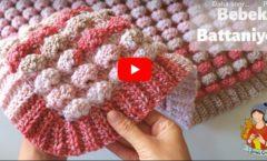 Tığ İşi Boncuk Battaniye Yapımı  Örgü Modelleri