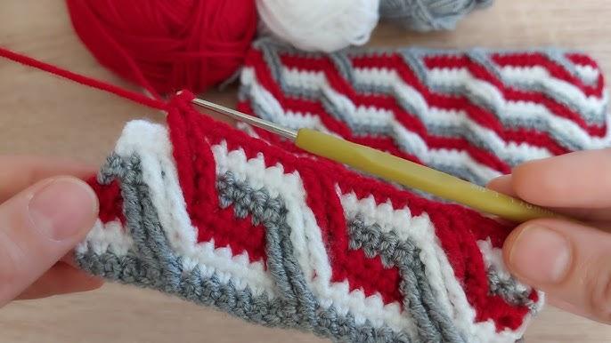 Tığ İşi Çok Güzel Çok Kolay Örgü Battaniye Bebek Yeleği Modeli How To Crochet Knitting Model